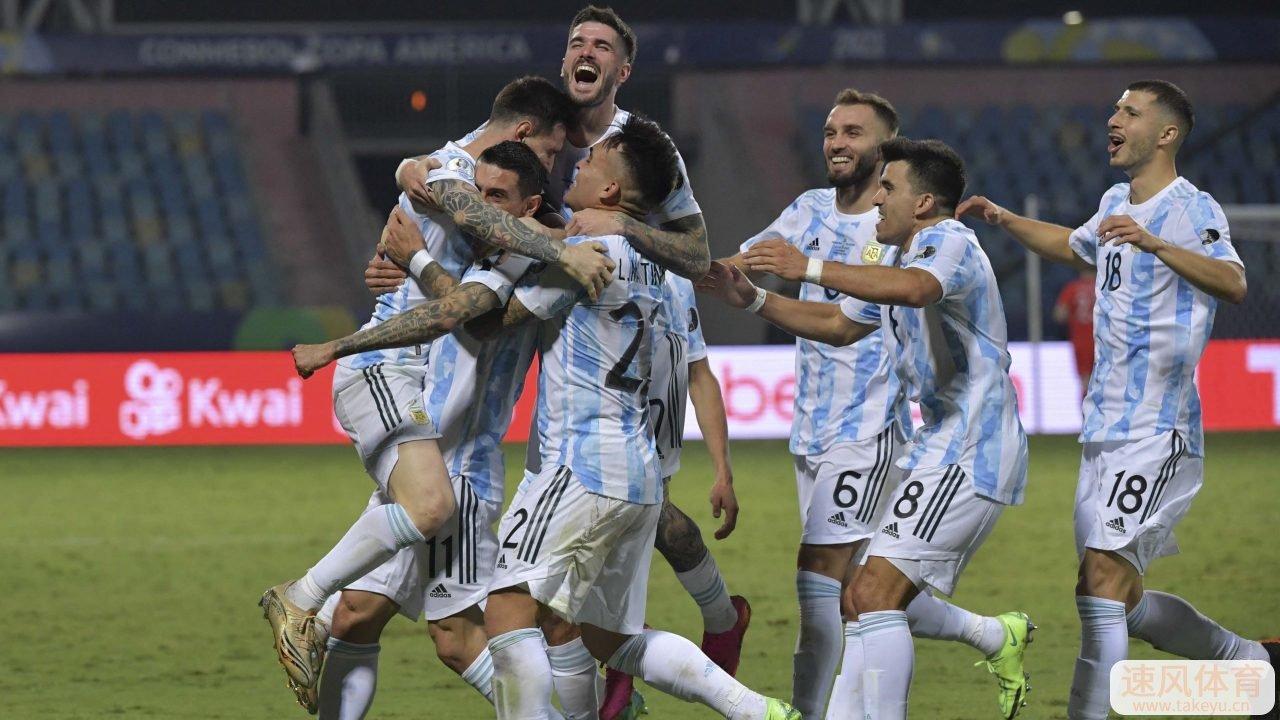 1-0!美洲杯冠军诞生!阿根廷复仇巴西,刷爆6大纪录,梅西笑开花